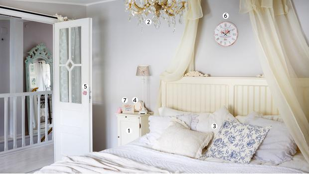 Kobieca sypialnia w 7 krokach