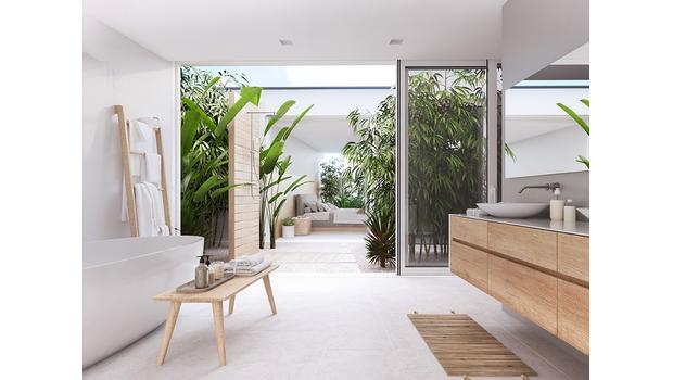 Zen zone: bathroom
