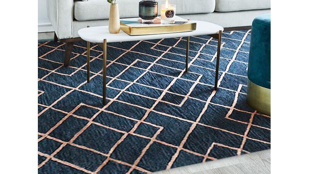 Te dywany połyskują!