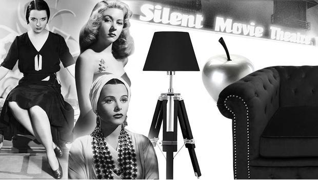 Glamour w stylu ikon Hollywood