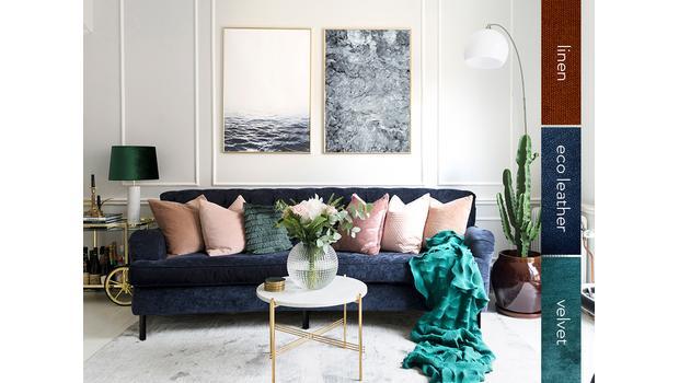 Sofy | 3 rodzaje tapicerki