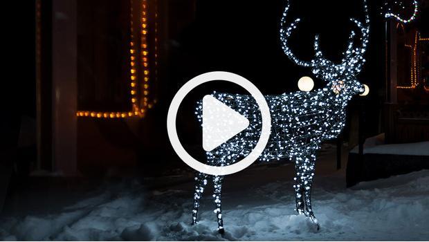 święta Pełne światła świąteczne Oświetlenie Do Domu I Ogrodu