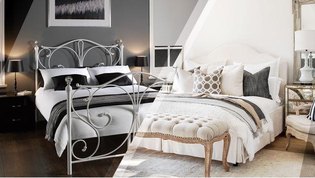 Sypialnia w 2 stylach