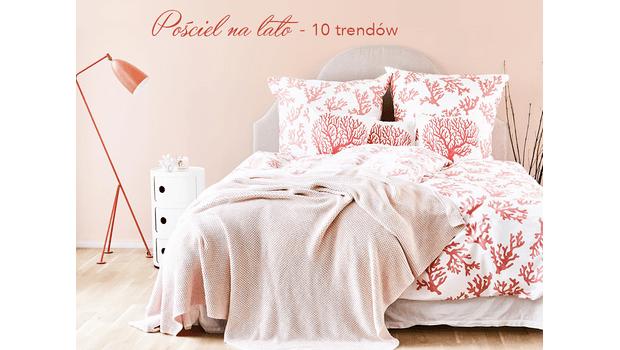Letnie trendy w sypialni
