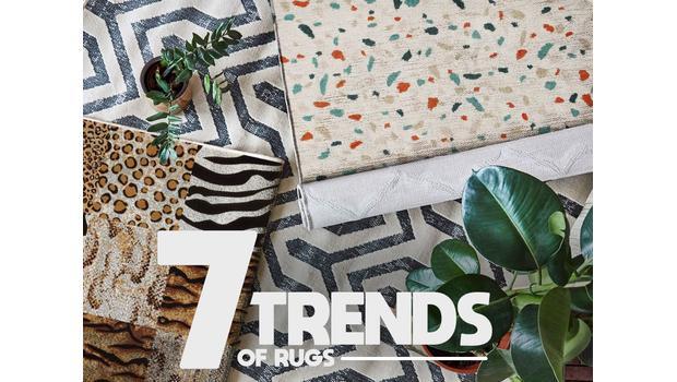 Dywany - trendy 2019