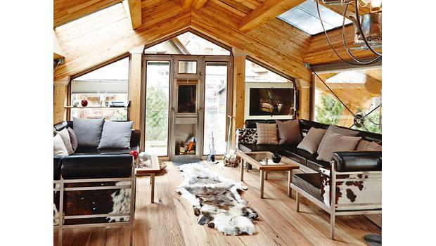 Domek w Alpach Szwajcarskich