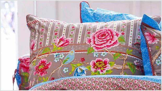 Sypialnia w kwiatach