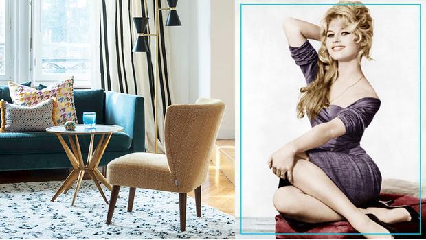 Zmysłowa Brigitte Bardot