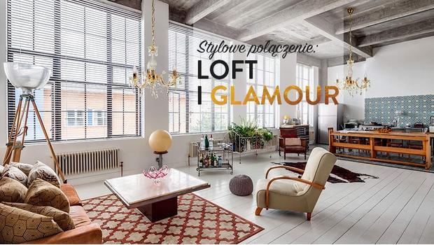Loft z blaskiem glamour