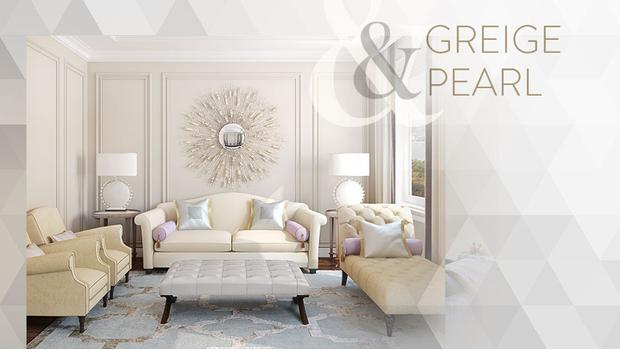 Greige & pearl