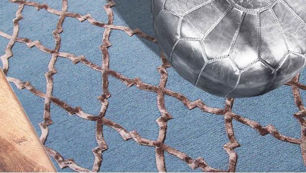 Dywany z połyskiem