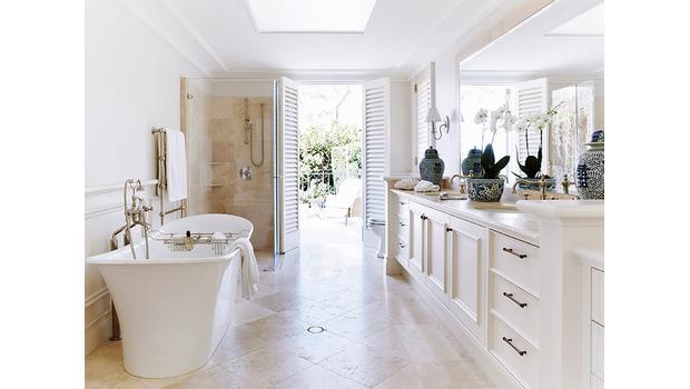Stylowa prostota w łazience!
