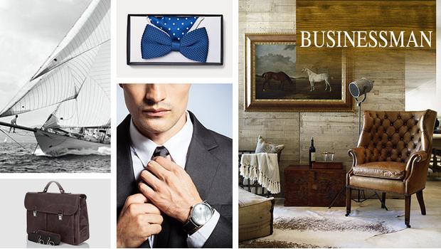 W świecie biznesmena