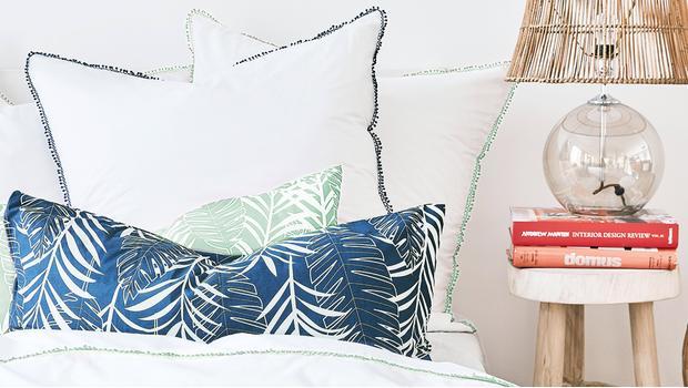 Sypialnia w tropikach