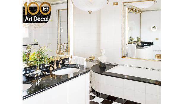 Łazienka pełna splendoru