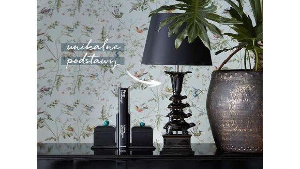 Lampy o niezwykłych podstawach