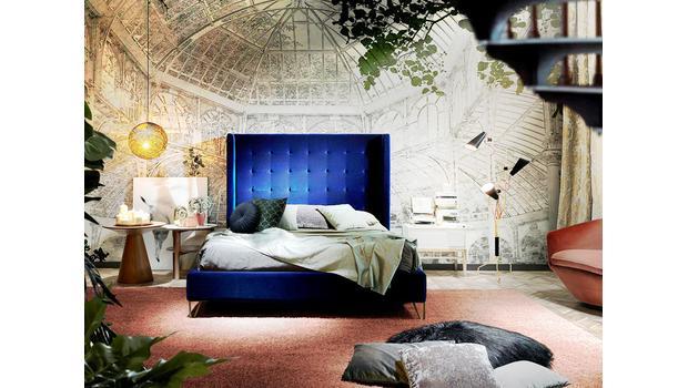 TREND: Velvet Bedroom