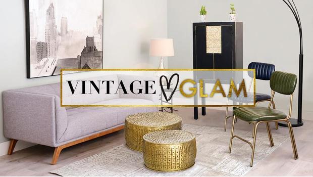 Vintage loves glam