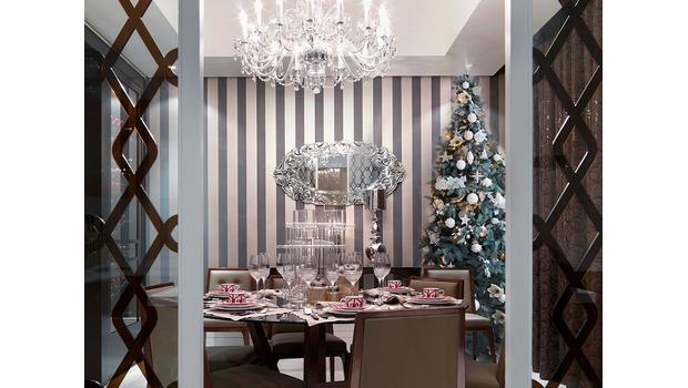 Świąteczny luksus przy stole