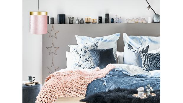 Projekt: zimowa sypialnia