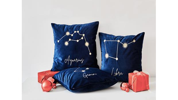 Poduszki ze znakami zodiaku