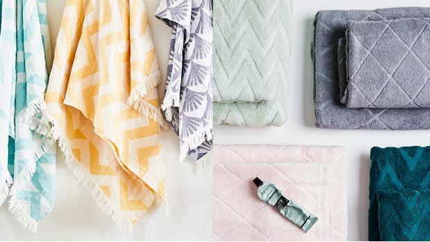 Ako vybrať uterák na leto?