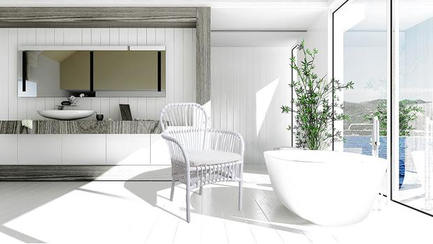 Relaxujúci kúpeľ
