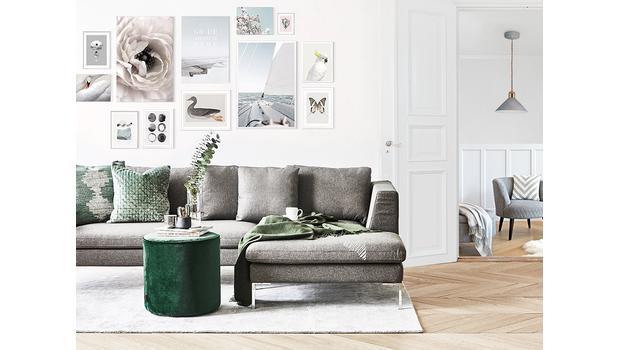 Zmeňte svoju obývaciu izbu!