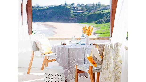 Raňajky pri mori