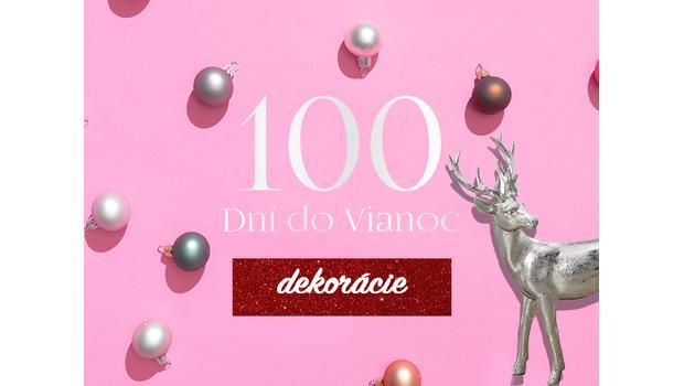 100 dní do Vianoc: Dekorácie