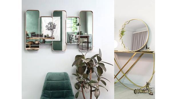 Zrkadlá rôznych štýlov