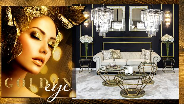 Zlatý interiér
