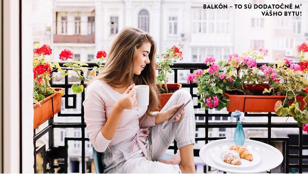 Balkón - vaša malá záhrada