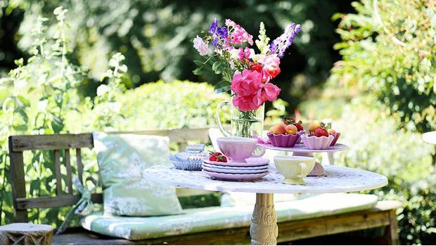 Relax na záhrade