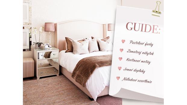 Romantická spálňa