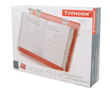 cremefarben Typhoon Vintage Kit Kochbuchst/ütze