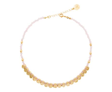 7f627ebb70ca ... Collar de bronce bañado en oro Mali - rosa y dorado Consultar  disponibilidad ...