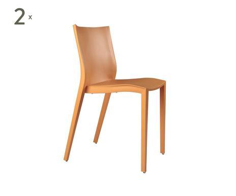 Xo design by philippe starck set de sillas slick slick for Sedie xo design