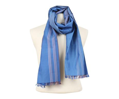 ... Foulard LEO coton et soie, bleu roi - 175 45 Vérifier la disponibilité  ... 4f74f7be1c6