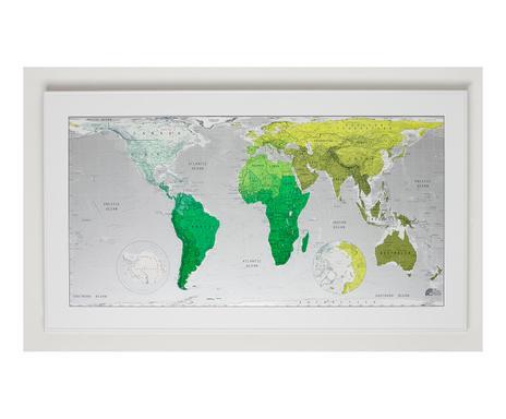 Carte Du Monde Plastifiee.Future Maps Cartes Du Monde Contemporaines Westwing