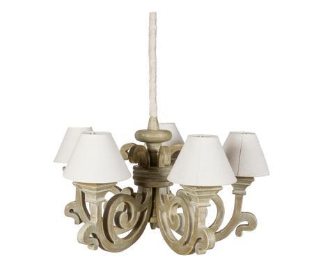 Lampadario In Legno Wood Mania : Cuore di shabby mobili lampade deco westwing