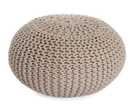 Pouf sgabello in legno e stoffa imbottita varie misure puff sedia
