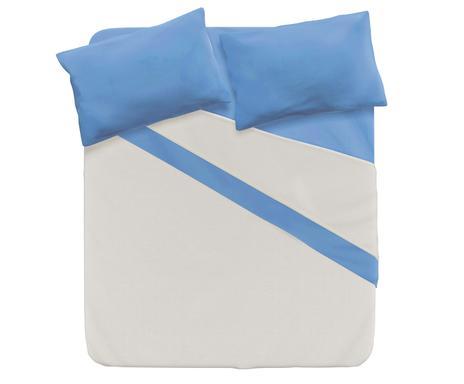 d7cc44d2dc ... disponibilità completo letto 1 piazza e mezzo in cotone naturale blu  Verifica la disponibilità completo letto singolo ...