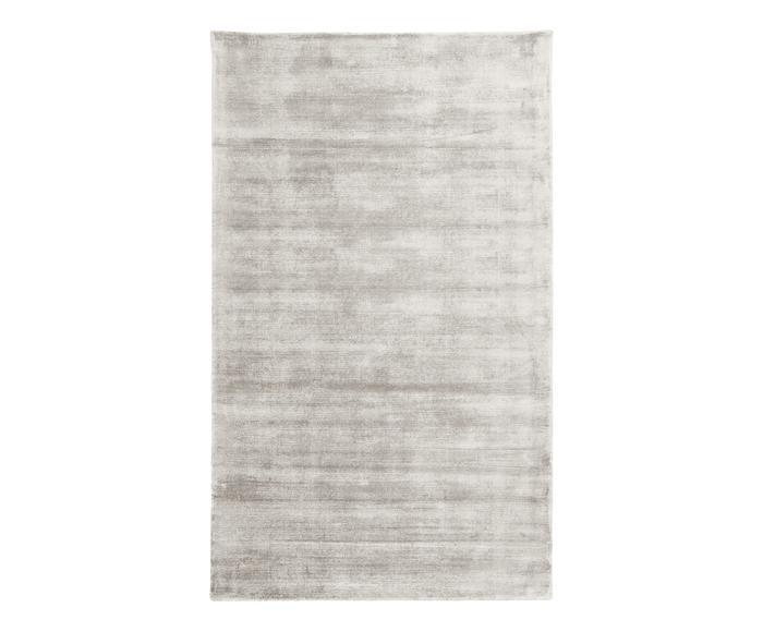 Tappeto Jane grigio chiaro, 90x150 cm