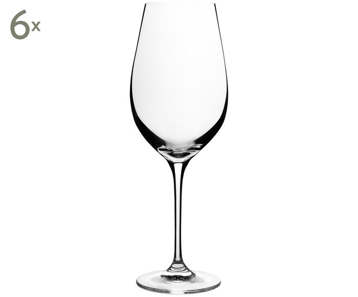 Set de 6 copas de vino en cristal Harmony