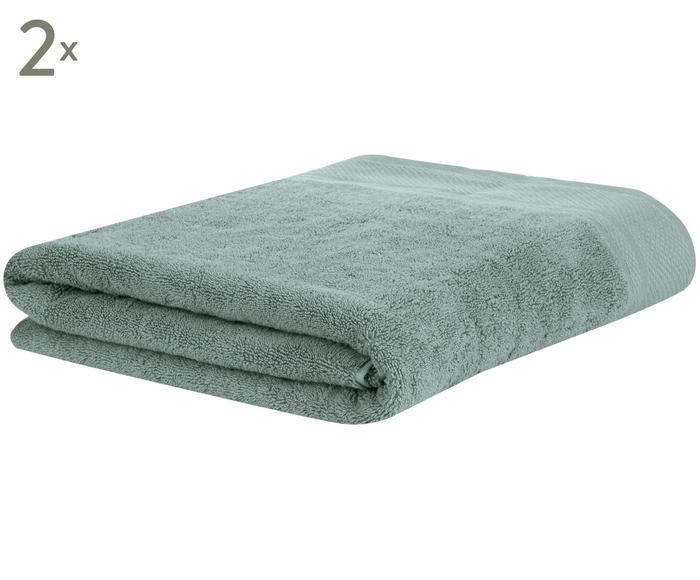 Set de 2 toallas de lavabo Premium