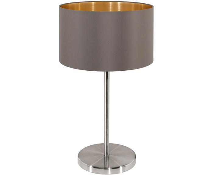 Lampada da tavolo Jamie grigio