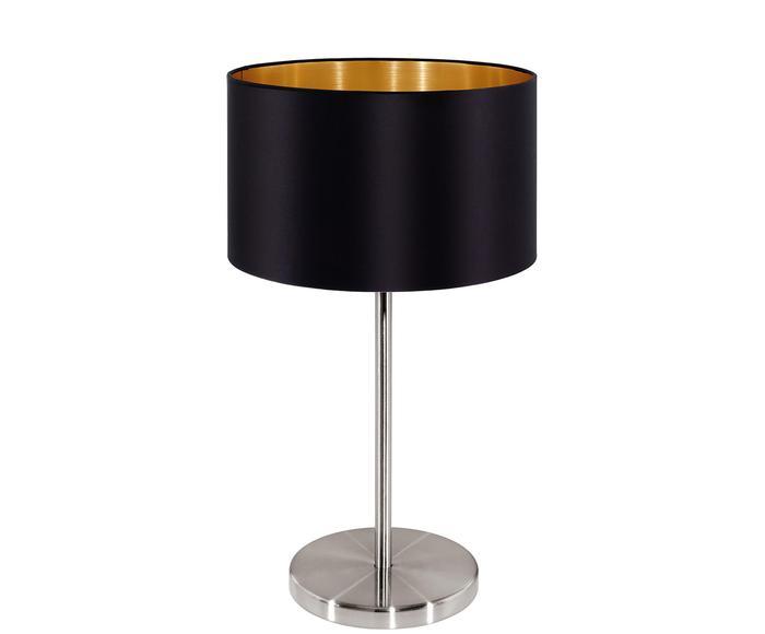 Lampada da tavolo Jamie nero
