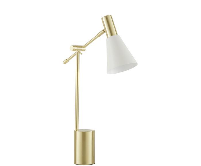"""Lampa stołowa """"Sia"""", 13 x 9 x 63 cm"""
