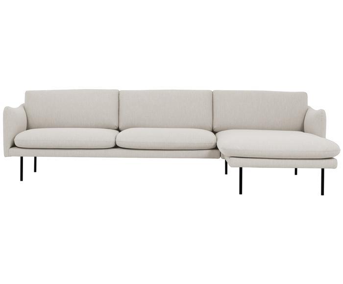 Sofá de 3 plazas con chaise longue derecha Moby